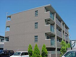 京都府城陽市久世南垣内の賃貸マンションの外観