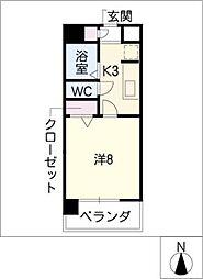 MAISON elbloc[6階]の間取り