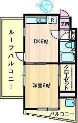 グリーンコーポ相武台[4階]の間取り