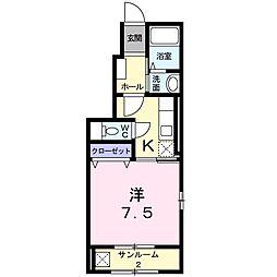メゾン TOKU[0101号室]の間取り