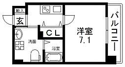 JP RESIDENCE 大阪城東II(ジェーピーレジデンス)[306号室号室]の間取り