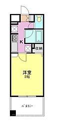 アンシャンテ朝霞[6階]の間取り