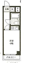 神奈川県横須賀市日の出町1丁目の賃貸マンションの間取り