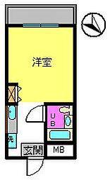 瀬沼ビル[3階]の間取り