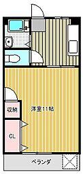 愛知県名古屋市千種区星ケ丘1丁目の賃貸マンションの間取り