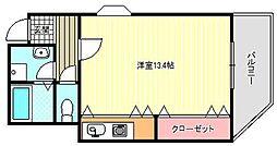 VILLA 901[3階]の間取り