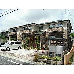 愛知県名古屋市名東区高社2丁目の賃貸アパートの外観