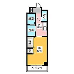 EXE原[4階]の間取り