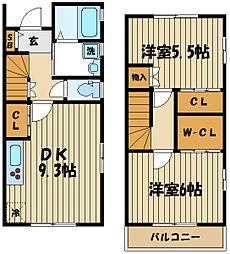 わらび[2階]の間取り