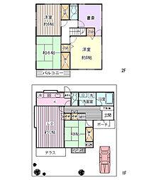 [一戸建] 千葉県浦安市舞浜2丁目 の賃貸【/】の間取り