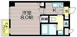 東京都世田谷区南烏山5の賃貸マンションの間取り