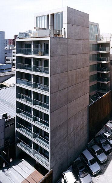 コートハウス[801(A)号室]の外観
