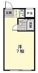 BBSマンション[2階]の間取り