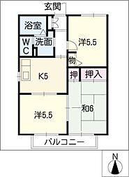 セフィラコート瑞穂 C棟[2階]の間取り