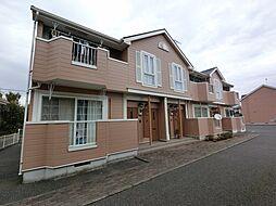 千葉県旭市ロの賃貸アパートの外観
