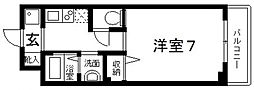 epoch昭和町[105号室号室]の間取り