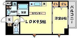GOパレス桃山台[2階]の間取り