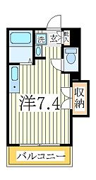 ペルレシュロスPartVIII[4階]の間取り