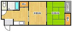 LONG VILLAGE[2階]の間取り