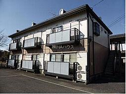 埼玉県上尾市上尾村の賃貸アパートの外観
