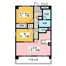 NEO CORONET[4階]の間取り