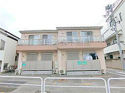 東京都大田区大森西1丁目の賃貸アパートの外観
