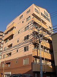 神奈川県横浜市鶴見区鶴見中央5の賃貸マンションの外観