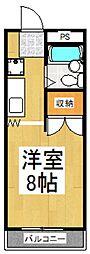アパートメント・クリサンセマム[1階]の間取り