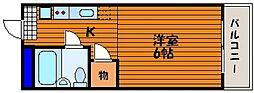 ウェーブレジデンス津島[1階]の間取り
