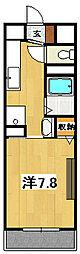 ワイズフラッツNC[1階]の間取り