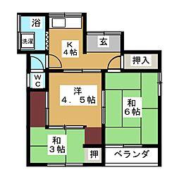 綱島駅 6.0万円