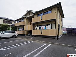 群馬県渋川市半田の賃貸アパートの外観