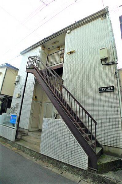 ロマンス志木[1階]の外観