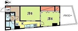 東京都杉並区成田東1丁目の賃貸マンションの間取り