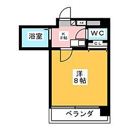 アイリスITO[4階]の間取り
