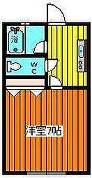 ピュア・サクラ[203号室]の間取り