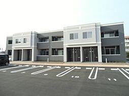 徳島県徳島市国府町観音寺の賃貸アパートの外観