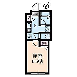 ウィステリア代々木[2階]の間取り
