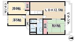 Do Miru Fuji[206号室]の間取り