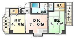 メゾン ユニ[3階]の間取り