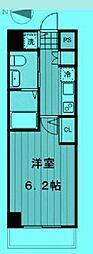 東京都新宿区下落合の賃貸マンションの間取り