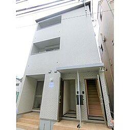 東京都品川区豊町5丁目の賃貸アパートの外観