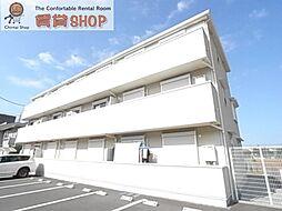 千葉県船橋市中野木2丁目の賃貸アパートの外観