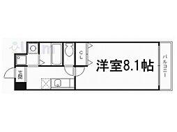 Bo.上七軒[6階]の間取り