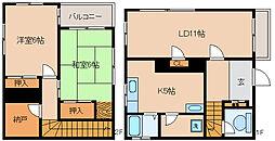 [一戸建] 兵庫県神戸市須磨区大手 の賃貸【兵庫県 / 神戸市須磨区】の間取り