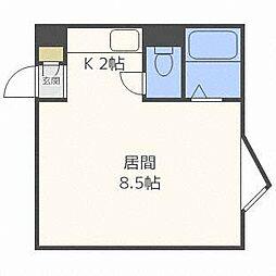 セジュールA[3階]の間取り