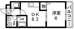 エムアールメゾン[1階]の間取り