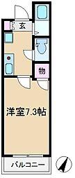 ドミール板橋本町[1階]の間取り