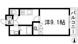 兵庫県川西市西多田1丁目の賃貸マンションの間取り