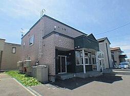 北海道札幌市北区あいの里四条4丁目の賃貸アパートの外観